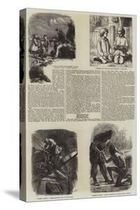 Literary Illustrations by James Dawson Watson
