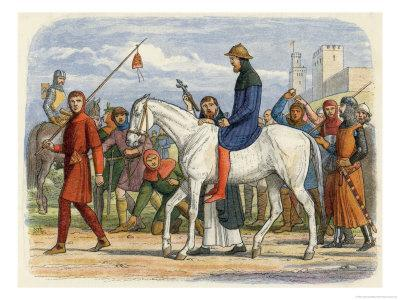 Thomas Earl of Lancaster is Lead to His Execution