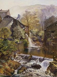The Old Water-Mill by James Duffield Harding