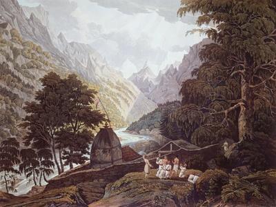 Source of Ganges, 1820