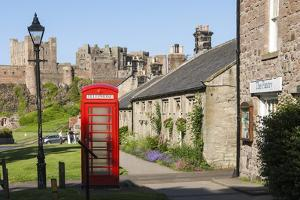 Bamburgh Village and Castle, Northumberland, England, United Kingdom, Europe by James Emmerson