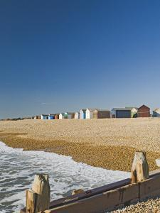 Beach Huts, Hayling Island, Hampshire, England, United Kingdom, Europe by James Emmerson