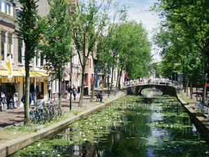 Canal, Delft, Holland (Netherlands), Europe by James Emmerson