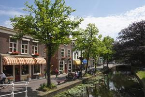 Canal Scene in Delft, Holland, Europe by James Emmerson