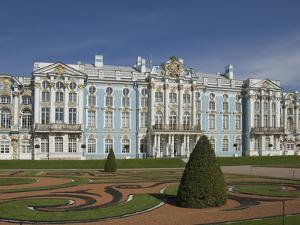 Catherine's Palace, St. Petersburg, Russia, Europe by James Emmerson