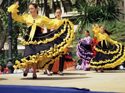 Fiesta Flamenco Dancers, Spain