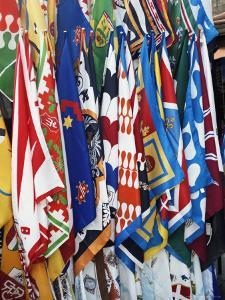 Flags and Banners, Siena, Tuscany, Italy, Europe by James Emmerson