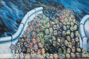Graffiti, Berlin Wall, Berlin, Germany, Europe by James Emmerson
