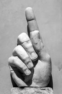 Hand of Emperor Constantine I, 4th Century Ad, Capitoline Museum, Rome, Lazio, Italy by James Emmerson