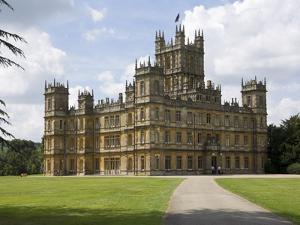 Highclere Castle, Home of Earl of Carnarvon, Location for BBC's Downton Abbey, Hampshire, England by James Emmerson