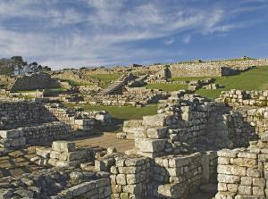 Housesteads Roman Fort from the South Gate, Hadrians Wall, Unesco World Heritage Site, England by James Emmerson