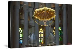 Interior View, Towards the Altar and Grand Organ, Sagrada Familia by James Emmerson