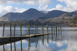 Lake Derwentwater, Barrow and Causey Pike, from the Boat Landings at Keswick by James Emmerson