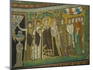 Mosaic Detail Within the Chiesa Di San Vitale, Ravenna, Emilia-Romagna by James Emmerson