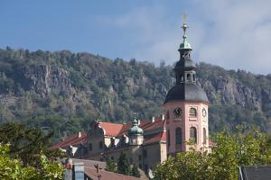 Parish Church, Stiftskirke, Old City, Baden Baden, Black Forest, Baden-Wurttemberg, Germany, Europe by James Emmerson