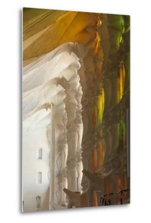 Sunlight Through Stained Glass, Sagrada Familia, Barcelona, Catalunya, Spain, Europe