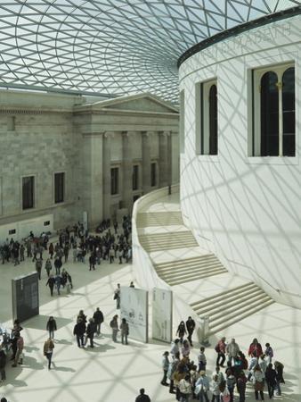 The Atrium at the British Museum, London, England, United Kingdom, Europe