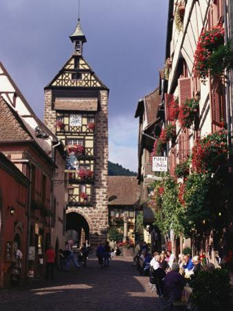 Traditional Architecture, Alsace, France, Europe