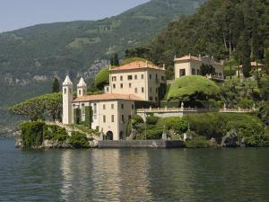 Villa Balbianello, Lake Como, Italy, Europe by James Emmerson