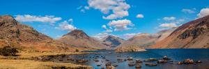 Wastwater and Great Gable by James Emmerson