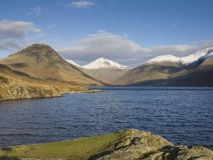 Wastwater with Yewbarrow, Great Gable, and Scafell Pike, Wasdale, Lake District National Park, Cumb by James Emmerson