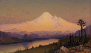 Mt. Hood at Sunset by James Everett Stuart