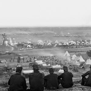 Civil War: Union Camp, 1862 by James F. Gibson