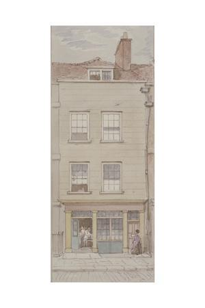 View of Mitre Court, Fleet Street, Showing John's Coffee House, C.1850