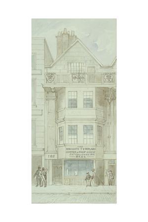 View of No. 185 Fleet Street