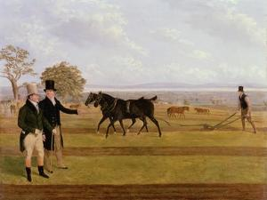 Sir Charles Morgan at the Castleton Ploughing Match, 1845 by James Flewitt Mullock