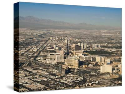 An Aerial View of the Sprawling City of Las Vegas
