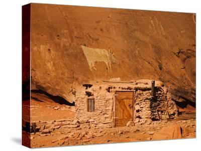 Ancient Navajo Cliff Dwelling and Petroglyphs