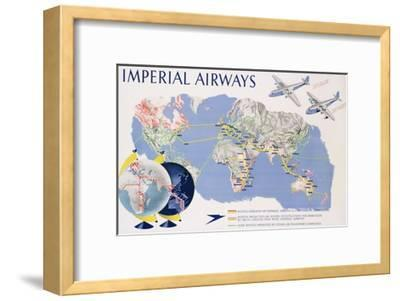 Imperial Airways Poster