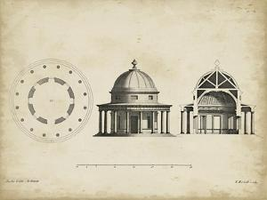Building Section and Plan II by James Gibbs