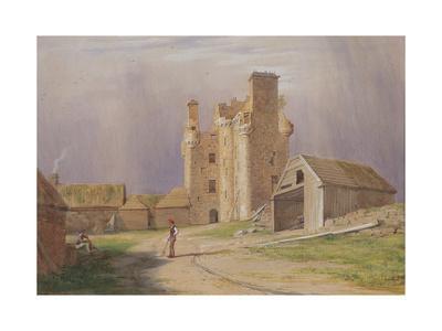 Tillycairn Castle, 1840's