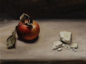 Apple and White Stilton by James Gillick