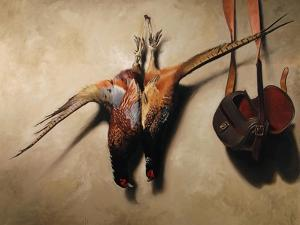 Big Brace of Pheasants by James Gillick