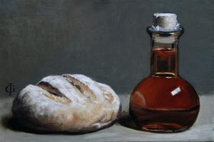 Bread with Fig Balsam, 2010 by James Gillick