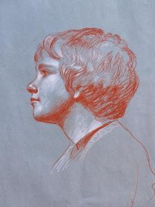 Profile of Edward Gorst Aged 10, 2008 by James Gillick