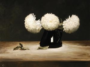 Three Chrysanthemums by James Gillick