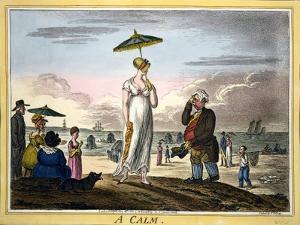 A Calm, Pub. H Humphrey, London, 1810 by James Gillray
