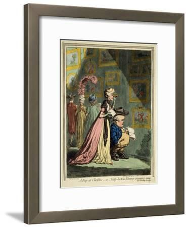 A Peep at Christies, 1796
