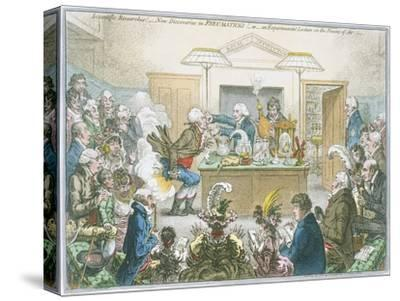 Chemical Lecture, 1802