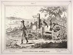Cockney Sportsmen, London, 1800 by James Gillray