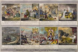 Democracy, or a Sketch of the Life of Buonaparte, Published by Hannah Humphrey in 1800 by James Gillray