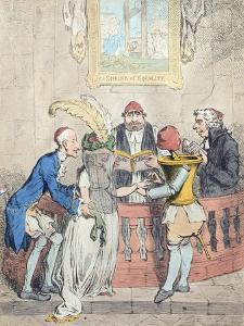 Democratic Levelling: Alliance a La Francaise by James Gillray