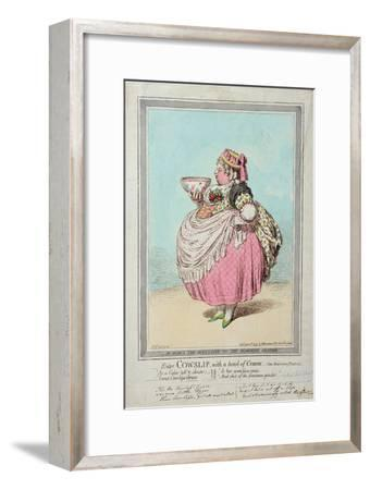 Enter Cowslip, with a Bowl of Cream, Published by Hannah Humphrey in 1795