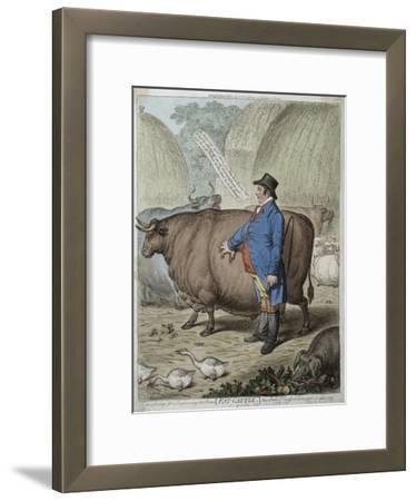 Fat Cattle, Published by Hannah Humphrey in 1802