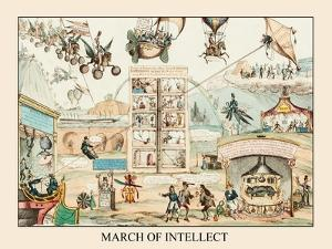March Of Intellect, No. 2 by James Gillray