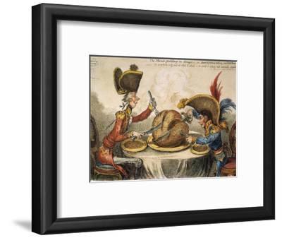 Napoleon Cartoon, 1805